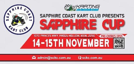 THE SAPPHIRE CUP - SAT/SUN 14 & 15TH NOVEMBER