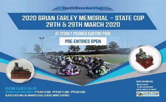 2020 BRIAN FARLEY MEMORIAL - POSTPONED