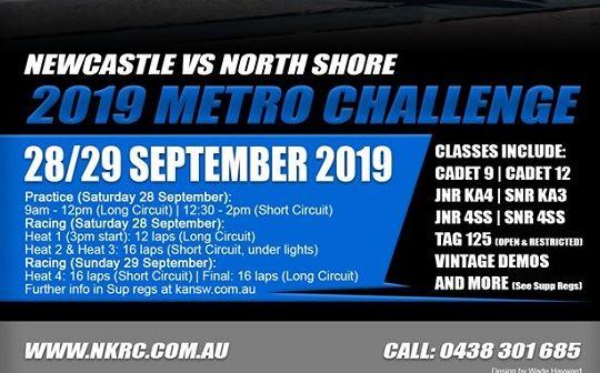 2019 METRO CHALLENGE - 28th 29th SEPTEMBER
