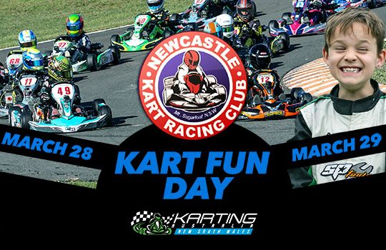 NEWCASTLE KART FUN DAYS - 28th and 29th MARCH - EVENT CANCELLED